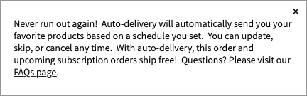 Free Shipping with Delivery